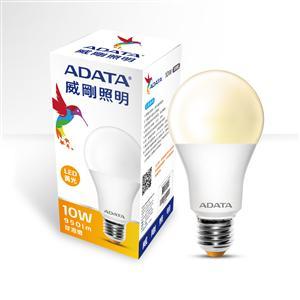 威剛照明 10W LED球泡燈(黃光)