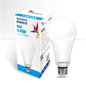 威剛照明 14W高效能 LED 球泡燈-白光