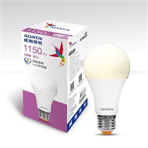 威剛照明 10W 節能標章LED球泡燈-黃光