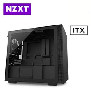 恩傑 NZXT H210 (4小) 黑色 透側電競機殼