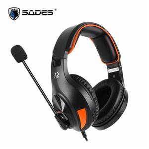 賽德斯 SADES A2 (橘/黑色) 商用耳機麥克風