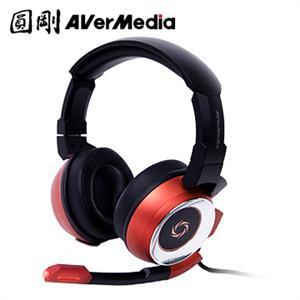 圓剛雷神戰錘專業電競耳機7 . 1聲道GH337 紅(福利品)