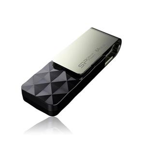 SP 廣穎 Blaze B30 64G 晶鑽奢華USB3 . 2隨身碟(尊爵黑)
