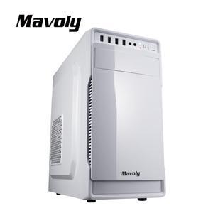 Mavoly 松聖 葡萄柚-白 一大一小 USB3 . 0 黑化機殼