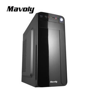 Mavoly 松聖 哈密瓜-黑 一大二小 USB3 . 0 黑化機殼