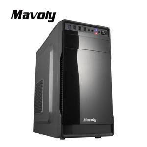Mavoly 松聖 葡萄柚-黑 一大一小USB3 . 0 黑化機殼