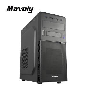 Mavoly 松聖 奇異果-黑 一大一小 USB3 . 0 黑化機殼