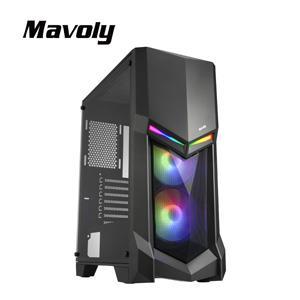 Mavoly 松聖 酪梨-黑 一大 USB3 . 0 黑化機殼