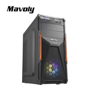 Mavoly 松聖 楊桃-黑 一大 USB3 . 0 黑化機殼