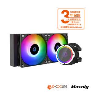 ID COOLING ZOOMFLOW 240X CPU一體式水冷散熱器