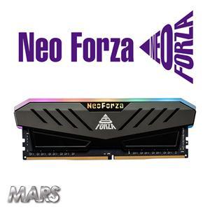 Neo Forza 凌航 Mars DDR4 3600 16GB(8G * 2) RGB LED燈 超頻記憶體(灰色散熱片)