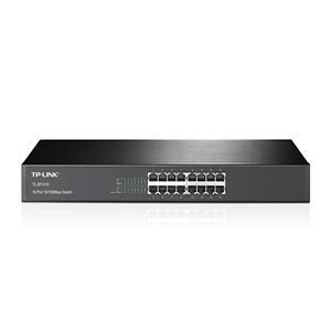 TP - LINK TL - SF1016 16 埠 10 / 100Mbps 機架裝載交換器 版本: 13