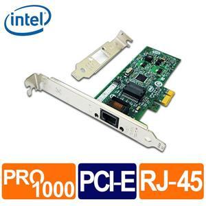 Intel 9301CT 1G 單埠RJ45 桌上型網路卡 (Bulk)