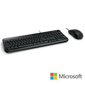 微軟 標準滑鼠鍵盤組 600 - 黑 盒裝(白盒)