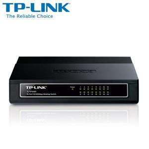 TP - LINK TL - SF1016D 16 埠 10 / 100Mbps 桌上型交換器