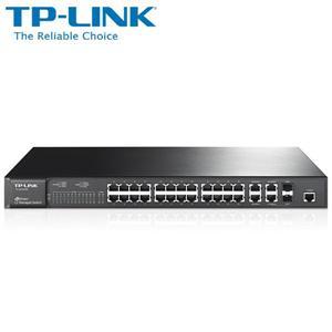 TP - LINK TL - SL5428E 24 埠 10 / 100Mbps + 4 埠 Gigabit L2 網管型交換器