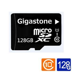 Gigastone microSDXC UHS - I U1 128G記憶卡(附轉卡)