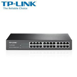 TP - LINK TL - SF1024D 24 埠 10 / 100Mbps 交換器