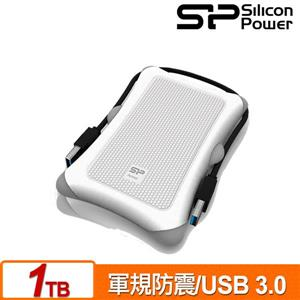 SP廣穎 Armor A30 1TB(白) 2 . 5吋軍規防震行動硬碟