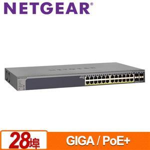 NETGEAR GS728TPP 28埠 Giga智能網管PoE +交換器