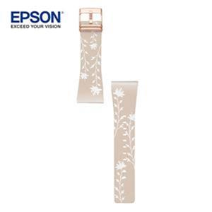 EPSON Flower Beige band Rose Gold Metal(暖色向陽玫瑰金錶帶)