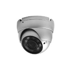 昇銳Hi - Sharp HS - D002AA 200萬畫素20米紅外線多合一手動變焦半球型攝影機(銀)(2 . 8 ~ 12mm)