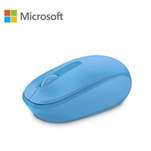 微軟 無線行動滑鼠 1850 - 活力藍 盒裝