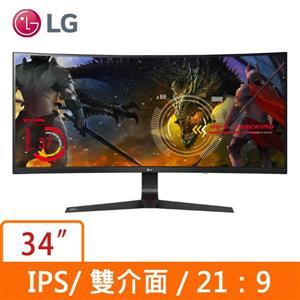 LG 34型 34UC89G (曲面)(電競)(21 : 9寬)螢幕顯示器