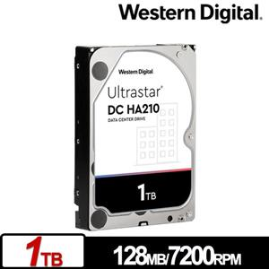 WD Ultrastar DC HA210 1TB 3 . 5吋企業級硬碟