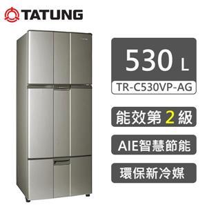 【TATUNG大同 】變頻三門冰箱530L(琥珀金) (TR - C530VP - AG)