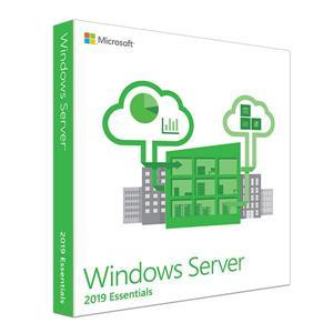 微軟Win Svr Essentials 2019 64Bit 1pk DSP OEI DVD 1 - 2CPU 中文隨機版
