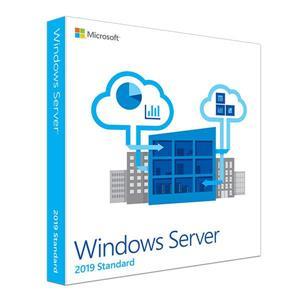 微軟Windows Svr Std 2019 64Bit 1pk DSP OEI DVD 16 Core 英文標準隨機版
