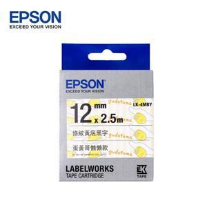 EPSON LK - 4MBY C53S654474蛋黃哥懶懶款標籤帶