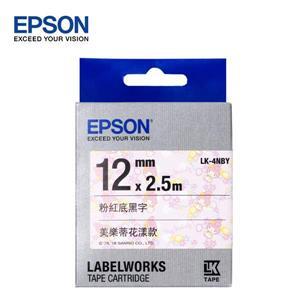 EPSON LK - 4NBY C53S654475美樂蒂花漾款標籤帶