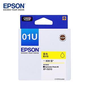 EPSON C13T01U450 黃色墨水匣