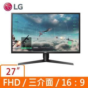 LG 27型 27GK750F - B (黑)(寬)螢幕顯示器