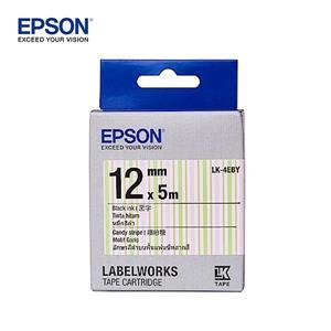 EPSON LK - 4EBY C53S654465繽紛糖果 標籤帶(12mm)