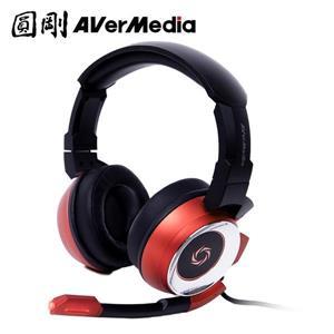 圓剛雷神戰錘專業電競耳機7 . 1聲道GH337 紅