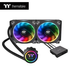 曜越 Floe Riing RGB 240 TT Premium頂級版CPU一體式水冷散熱器