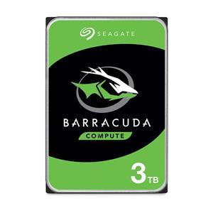 希捷新梭魚 Seagate BarraCuda 3TB 3 . 5吋 桌上型硬碟 (ST3000DM007)