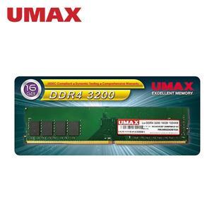 UMAX DDR4 3200 / 16G RAM(1024 * 8)