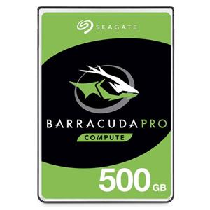 希捷新梭魚Pro Seagate BarraCuda Pro 500GB 2 . 5吋 硬碟 (ST500LM034)