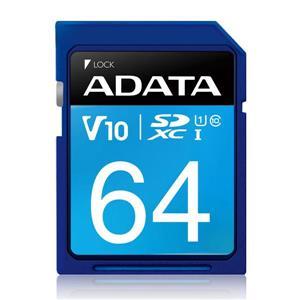 威剛 Premier SDXC UHS - I U1 64G記憶卡
