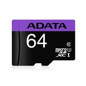 威剛 Premier microSDXC UHS - I U1 64G記憶卡(附轉卡)