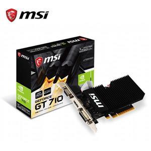 微星MSI GT 710 1GD3H LP 顯示卡