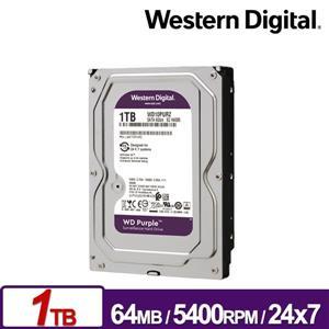 WD10PURZ 紫標 1TB 3 . 5吋監控系統硬碟