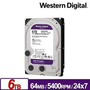 WD62PURZ 紫標 6TB 3 . 5吋監控系統硬碟