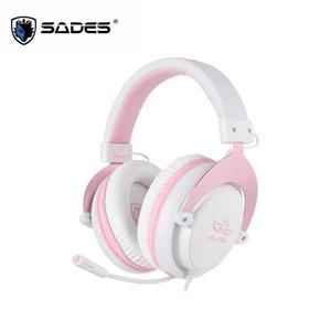 賽德斯SADES Mpower Angel Edition 玫瑰金天使限量版 耳機麥克風