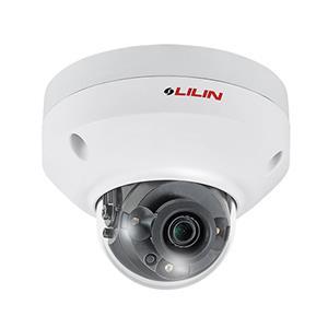 LILIN 利凌 MR6342 400萬畫素30米紅外線半球型網路攝影機(4mm)