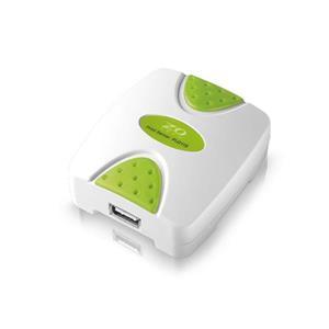 ZO TECH PU211S USB埠印表伺服器(綠色)